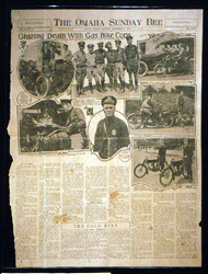 antique newspaper